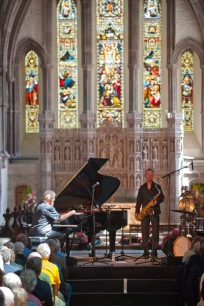 Jazz concert in the cathedral